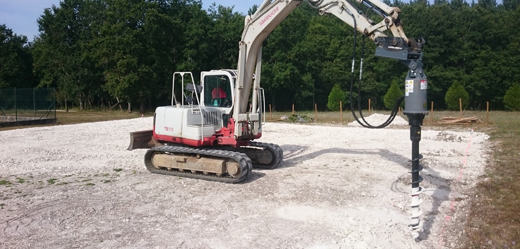 Rock Augers for Hard Terrain Fencing